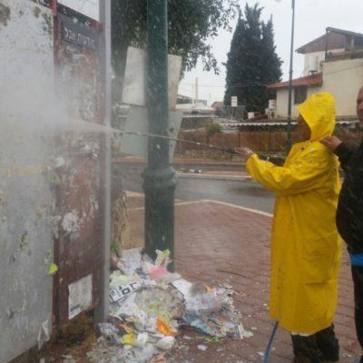 מחלקת הפיקוח במבצע נקיון (3)