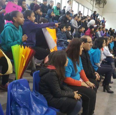 משחק כדורגל בין נבחרת המועצה לילדי בתי הספר (10)