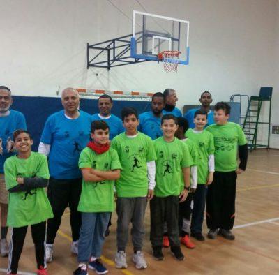 משחק כדורגל בין נבחרת המועצה לילדי בתי הספר (11)