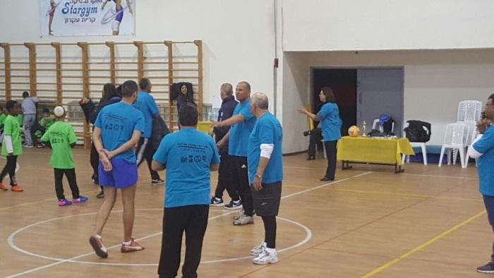 משחק כדורגל בין נבחרת המועצה לילדי בתי הספר (12)