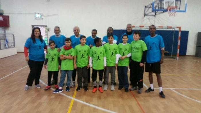משחק כדורגל בין נבחרת המועצה לילדי בתי הספר (3)